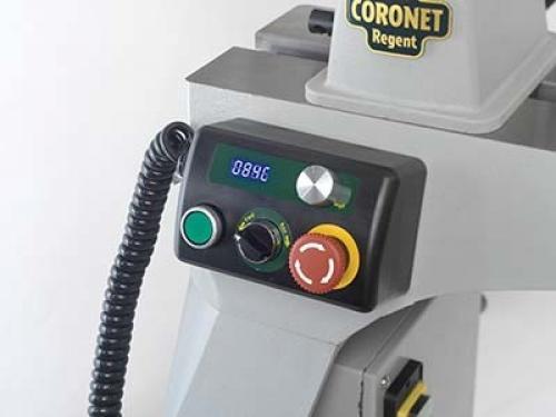 Record Power - Coronet Regent sorvi - Valurautaiset jalat ja elektroninen nopeudensäätö - UUTUUS